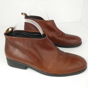 Rachel Comey Brown Flinch Pull On Boots Size 10